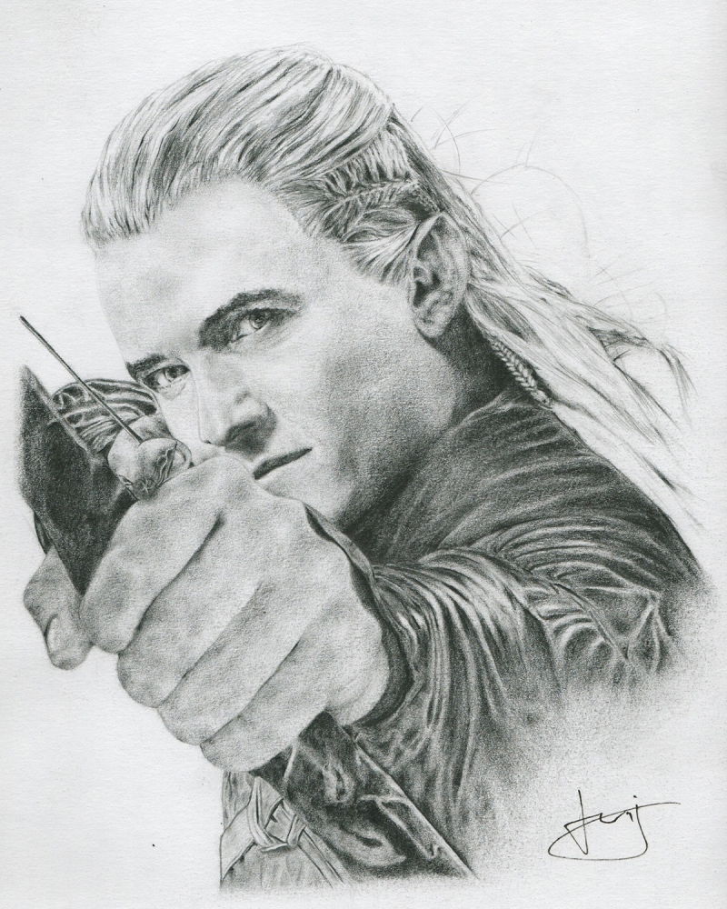 Orlando Bloom par portraitemoi